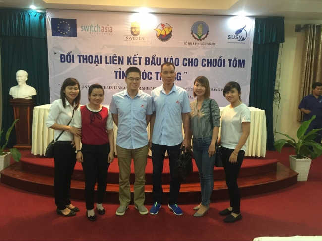 TONGRUN speed reducer participate acquaculture seminar in VIETNAM