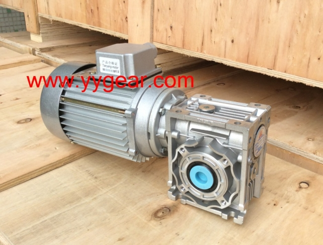 NRV40 worm gearbox reducer ship to Egypt