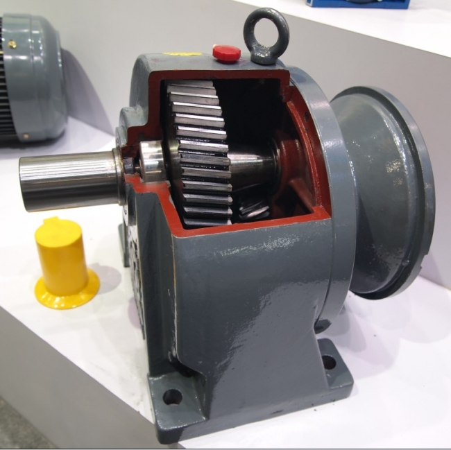 Helical gear motor replace CYCLO reducer