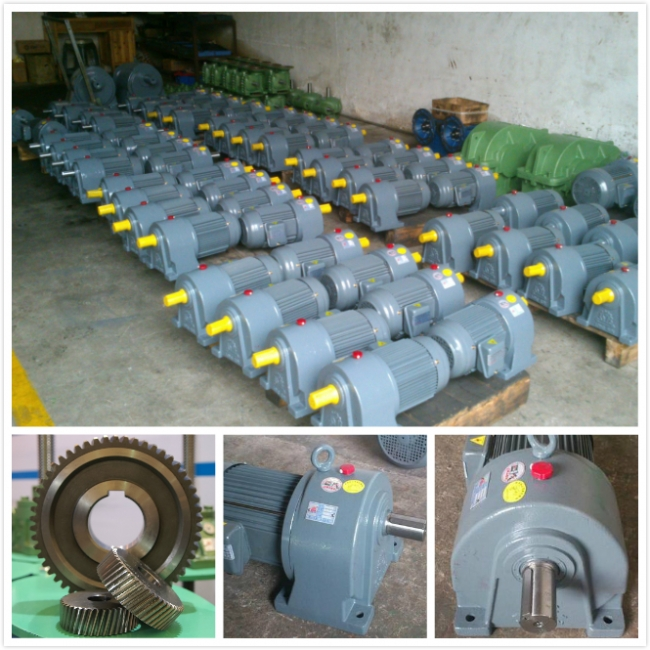 Helical Gear Reducer Motor 0.25HP-7.5HP