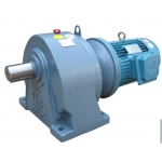 7.5HP,5.5KW,5500W foot mounted gearmotor gearbox reducer