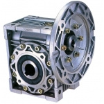 Silver color NMRV Worm Gearbox motor reducer
