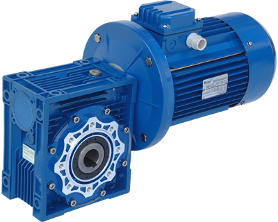 Nmrv063 Worm Gearbox With Motor Gear Reducer Motor Reducer