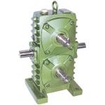 WPSA100 double worm gearbox