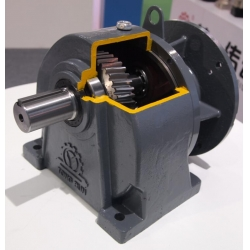 3.7kw,3700w,4hp Helical Gear Reducer,Speed Reducer,Motor Reducer