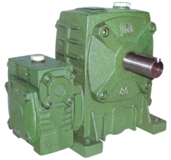 WPEA double worm gearbox