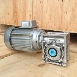0.25KW,250w,0.25hp NMRV worm gearbox motor reducer