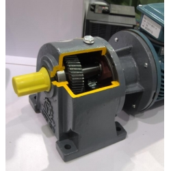1.1kw,1100w,1hp Helical Gear Reducer,Speed Reducer,Motor Reducer