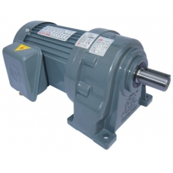 Aluminium foot mounted AC gear motor