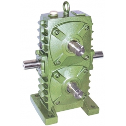 WPSA70 double worm gearbox
